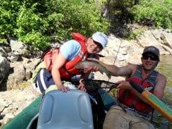 Fishing on the Salmon